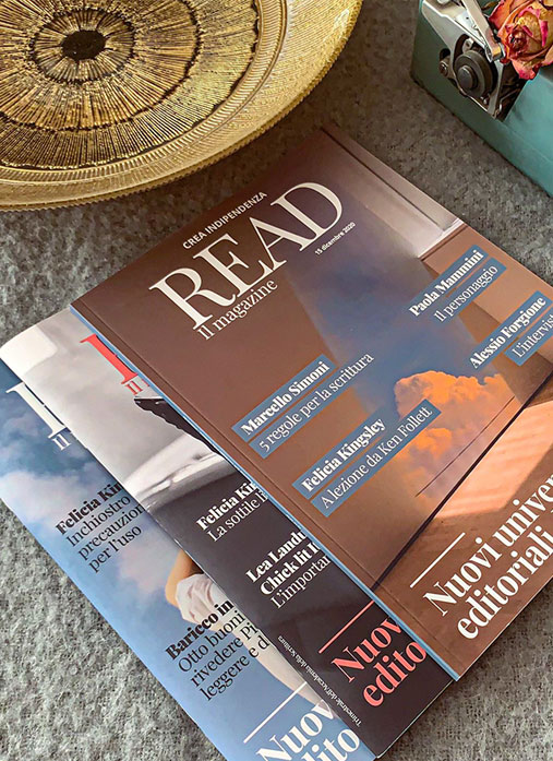 Read il magazine - il progetto
